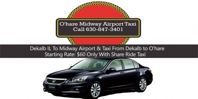 Taxi Service To/From O'Hare International Airport (ORD)